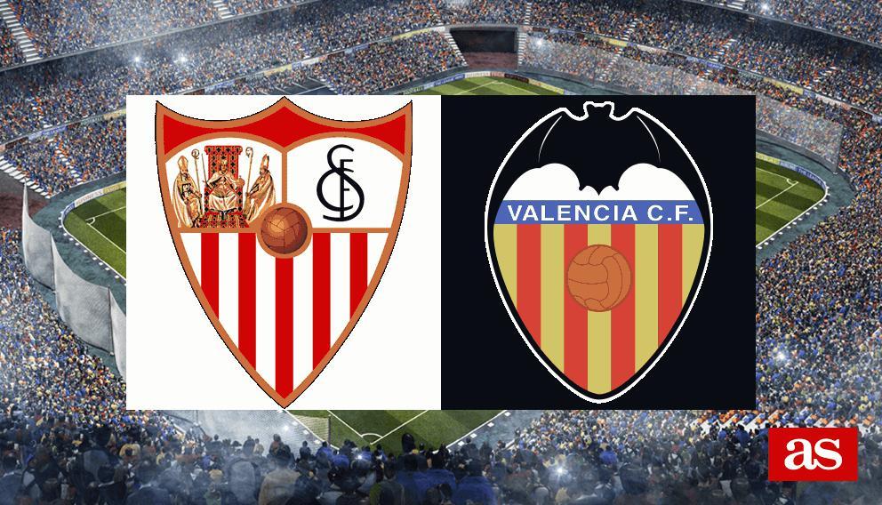 Sevilla 2-1 Valencia: Resumen, goles y resultado
