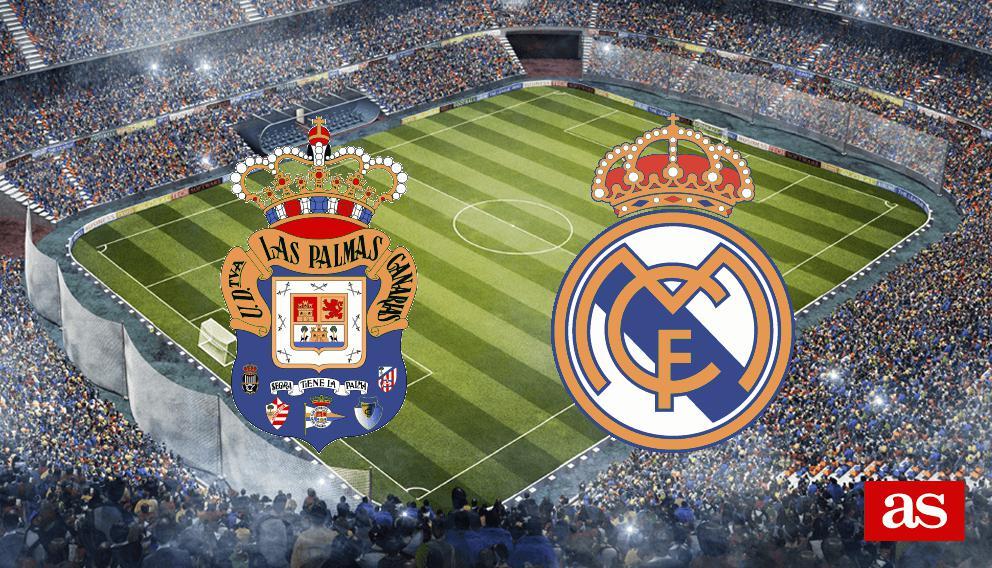 Las Palmas - Real Madrid en vivo y en directo online: LaLiga Santander 2016/2017
