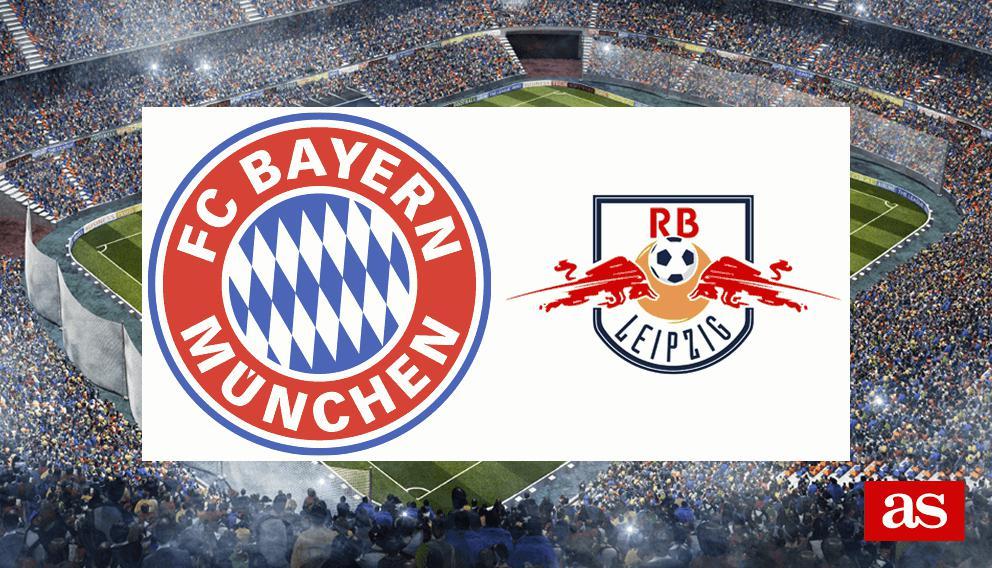 Bayern - RB Leipzig en vivo y en directo online: Bundesliga 2016/2017