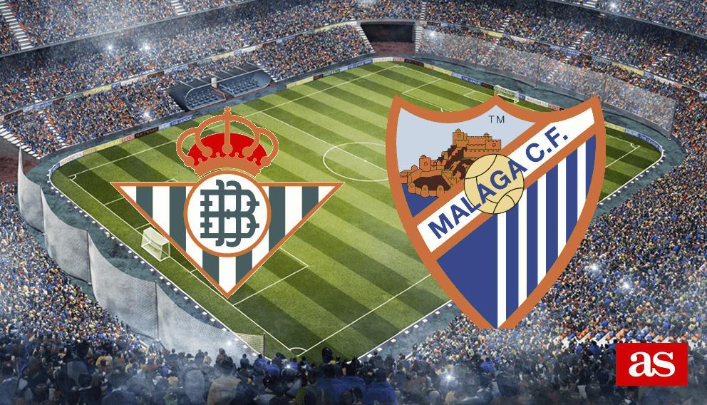 Betis - Málaga en vivo y en directo online: LaLiga Santander 2016/2017