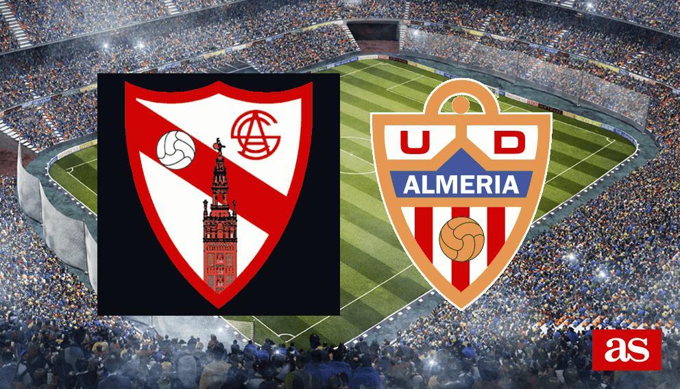 Sevilla Atlético - Almería: resumen, resultado y goles J14 Liga 1,2,3