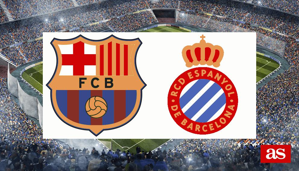 Barcelona 4-1 Espanyol: resumen, resultado y goles