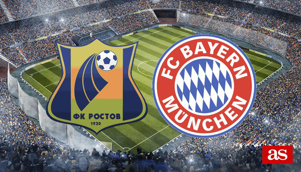 Rostov vs. Bayern live: Champions League 2016/2017 - AS.com