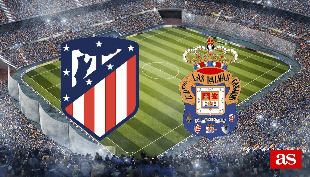 Atlético de Madrid - Las Palmas: resumen, resultado y goles