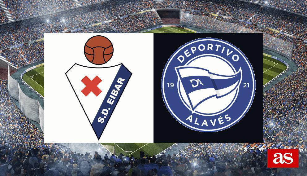 Eibar 0-0 Alavés: resumen, resultado y goles