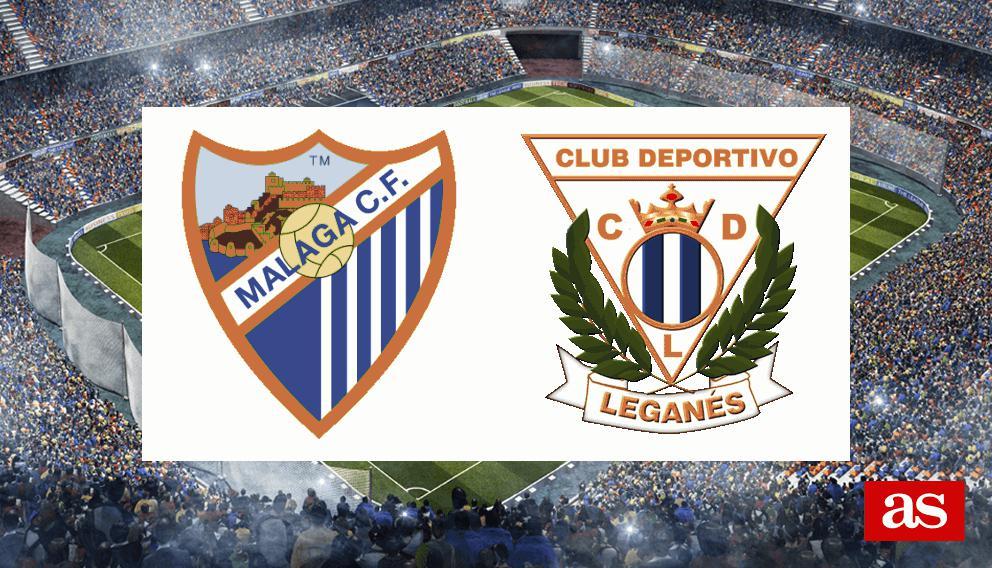 Málaga - Leganés en vivo y en directo online: LaLiga Santander 2016/2017