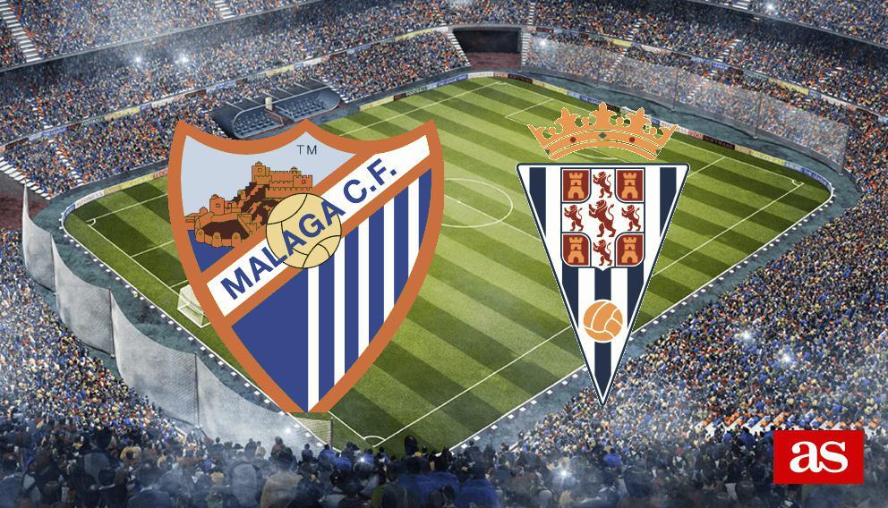 Málaga 3-4 Córdoba: Resumen goles y resultado