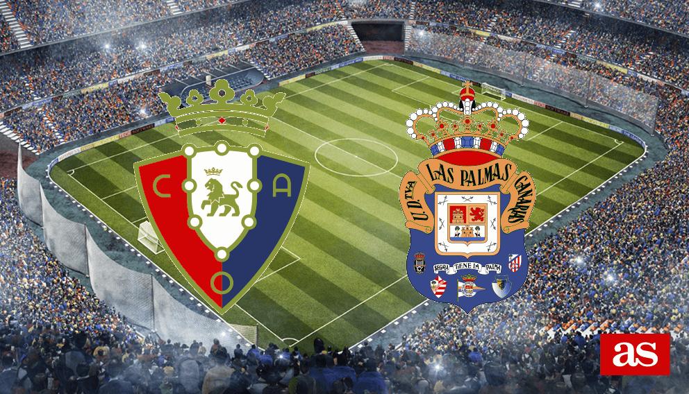 Osasuna - Las Palmas en vivo y en directo online: LaLiga Santander 2016/2017