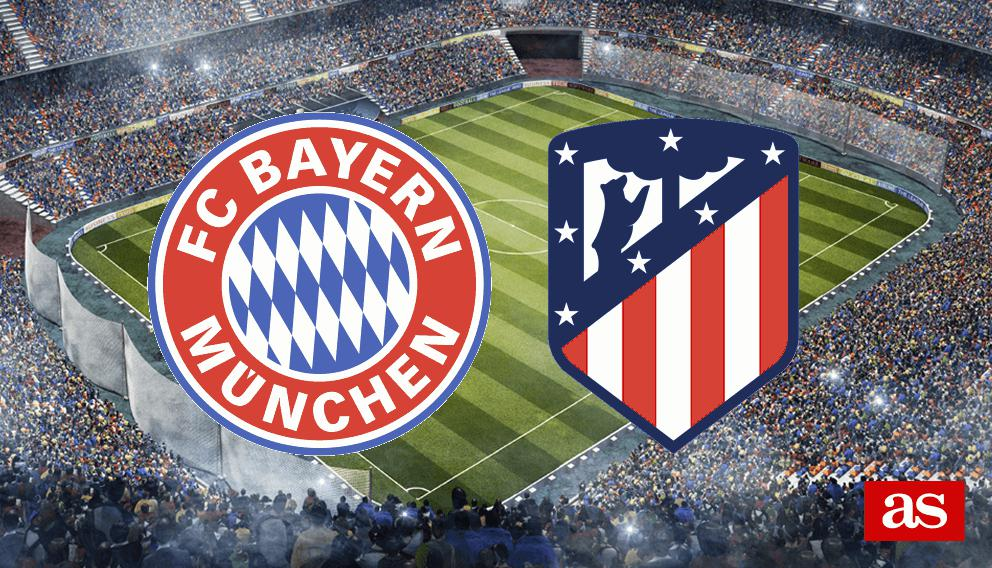 Bayern vs. Atlético live: Champions League 2016/2017 - AS.com