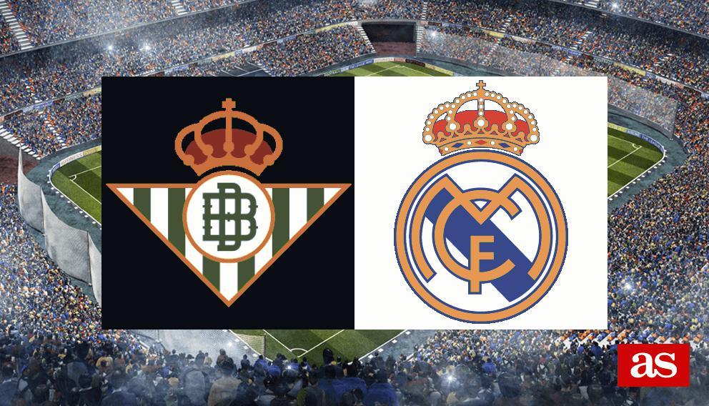 Betis - Real Madrid en vivo y en directo online: LaLiga Santander 2016/2017