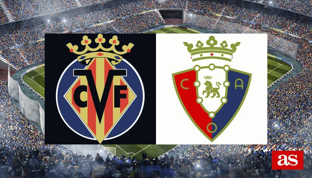 Villarreal - Osasuna en vivo y en directo online: LaLiga Santander 2016/2017