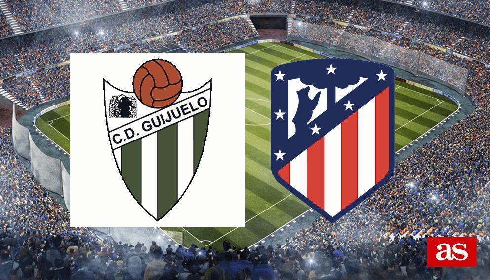 Guijuelo - Atlético en vivo y en directo online: Copa del Rey 2016/2017