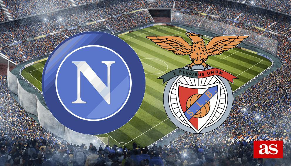 Nápoles - Benfica en vivo y en directo online: Champions League 2016/2017