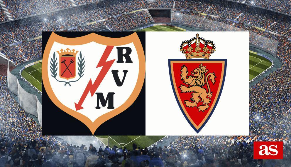 Rayo - Real Zaragoza en directo y vivo online: LaLiga 123 2016/2017