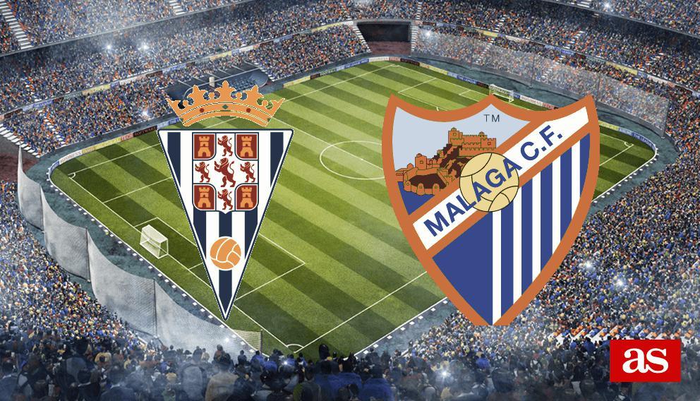 Córdoba - Málaga en vivo y en directo online: Copa del Rey 2016/2017