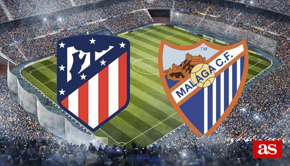 Atlético vs. Málaga live: LaLiga Santander 2016/2017 - AS.com