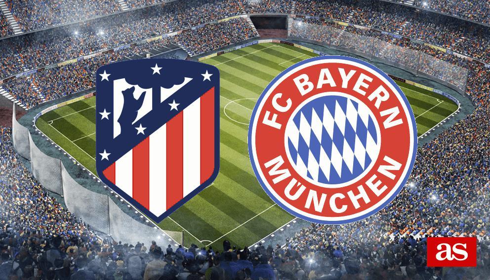 Atlético - Bayern en vivo y en directo online: Champions League 2016/2017