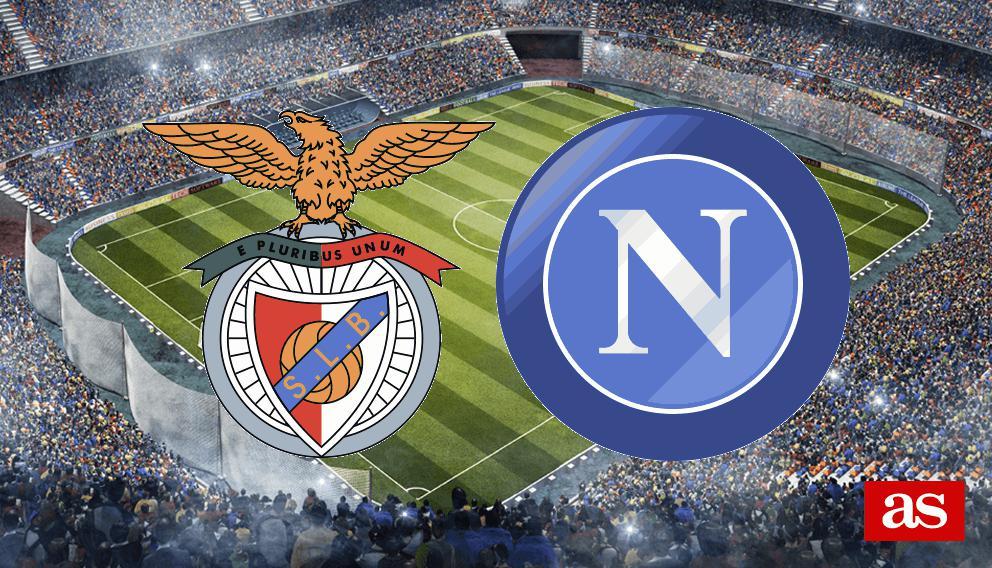 Benfica vs. Nápoles live: Champions League 2016/2017 - AS.com