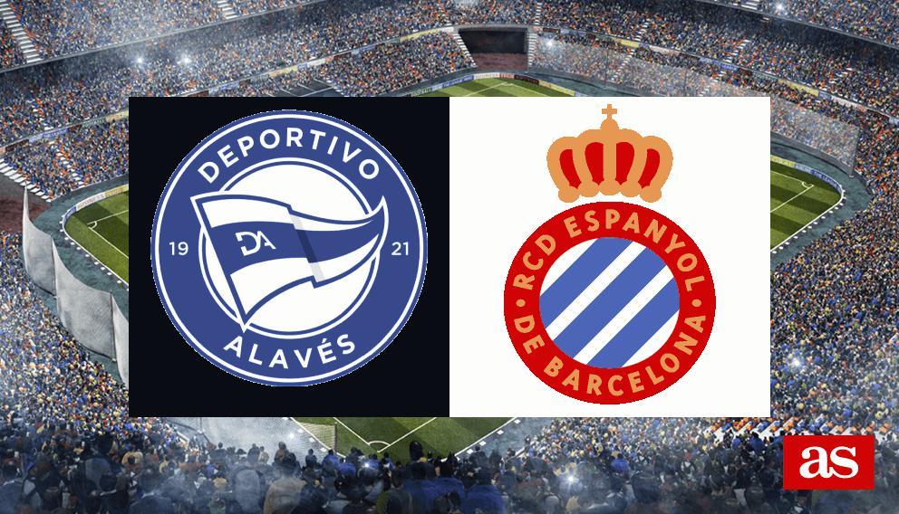 Alavés - Espanyol en vivo y en directo online: LaLiga Santander 2016/2017