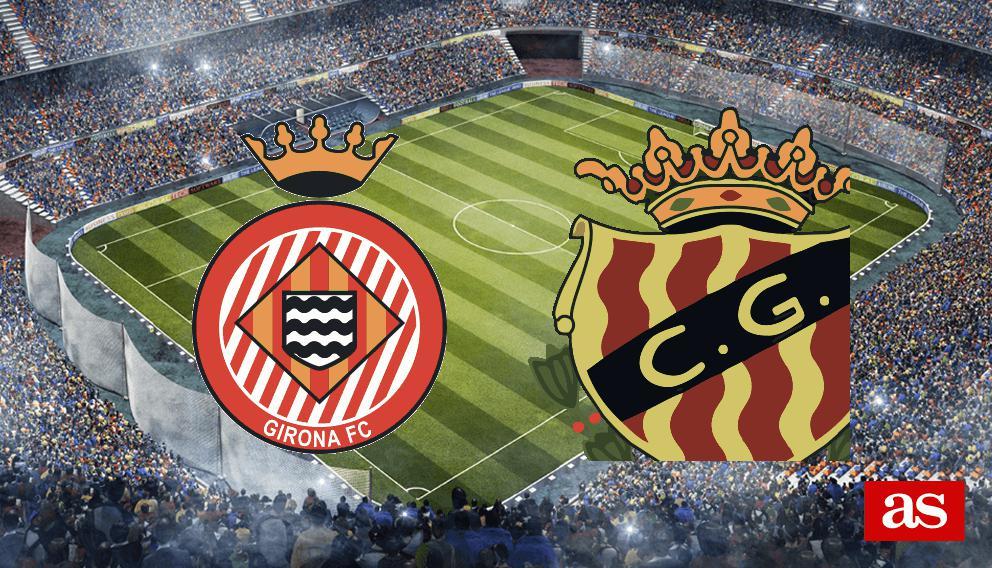 Girona - Nàstic directo online: LaLiga 123 2016/2017 J19
