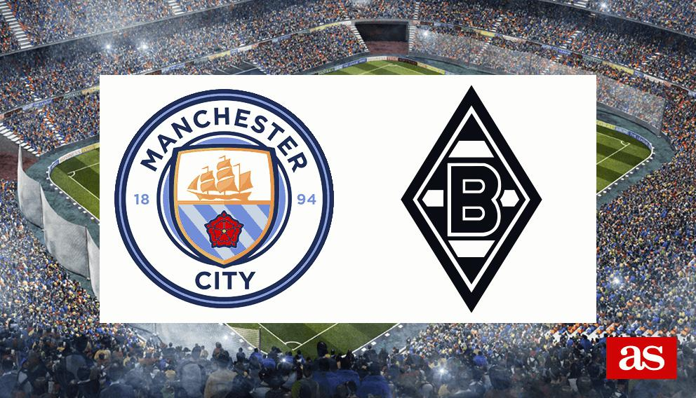 M. City vs. B. MGladbach live: Champions League 2016/2017 - AS.com