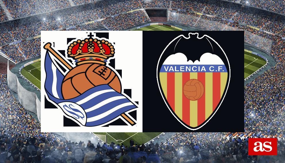 Real Sociedad 3-2 Valencia: resumen, resultado y goles