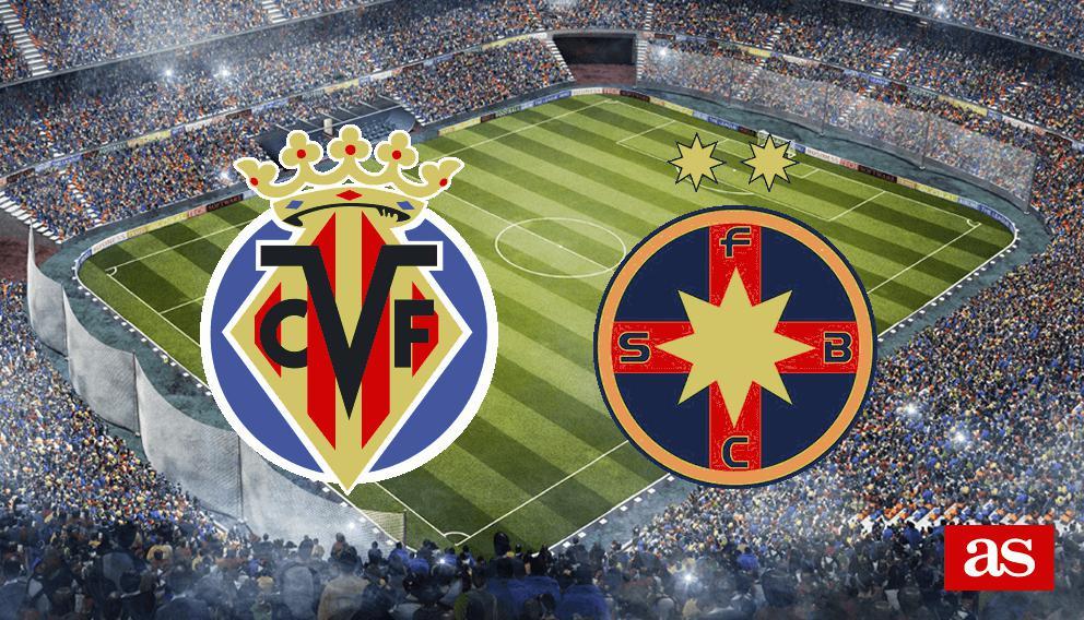 Villarreal 2-1 Steaua: Resumen, resultado y goles