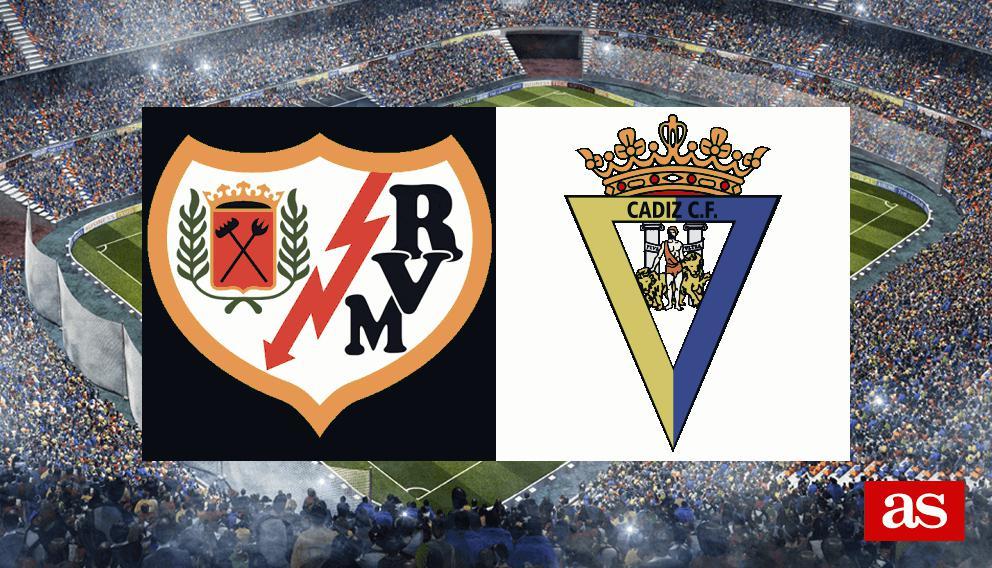 Rayo - Cádiz en vivo y en directo online: LaLiga 1,2,3 2016/2017