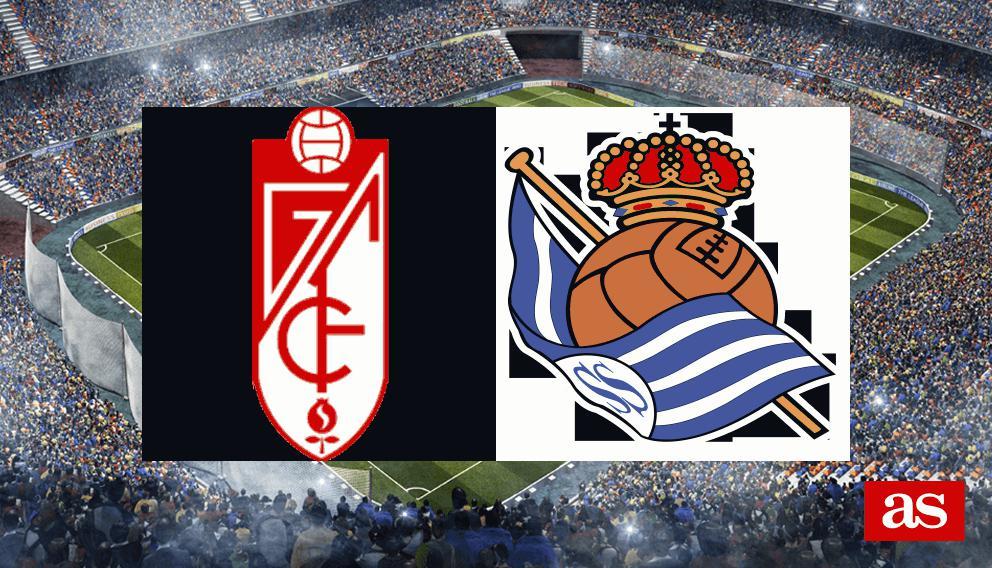 Granada - Real Sociedad: resumen, resultado y goles