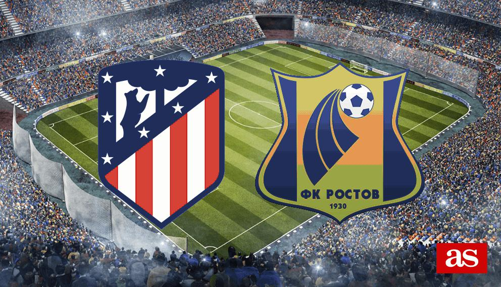 Atlético - Rostov en vivo y en directo online: Champions League 2016/2017