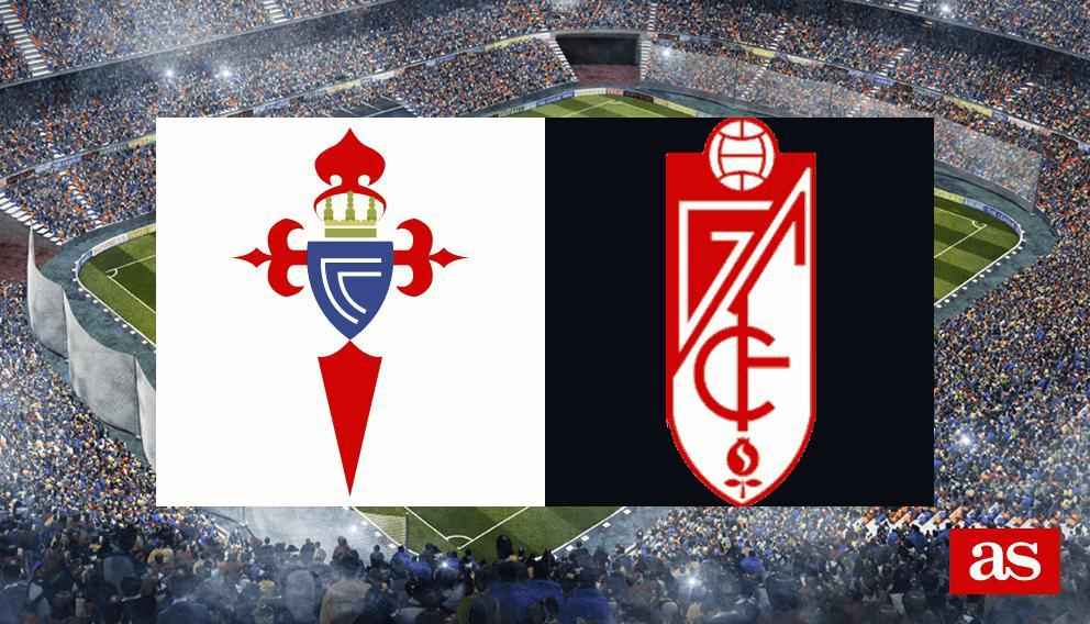 Celta - Granada: goles, resultado y resumen - Liga Santander