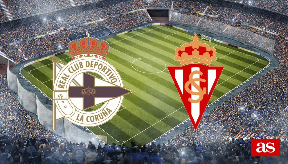 Deportivo - Sporting en vivo y en directo online: LaLiga Santander 2016/2017