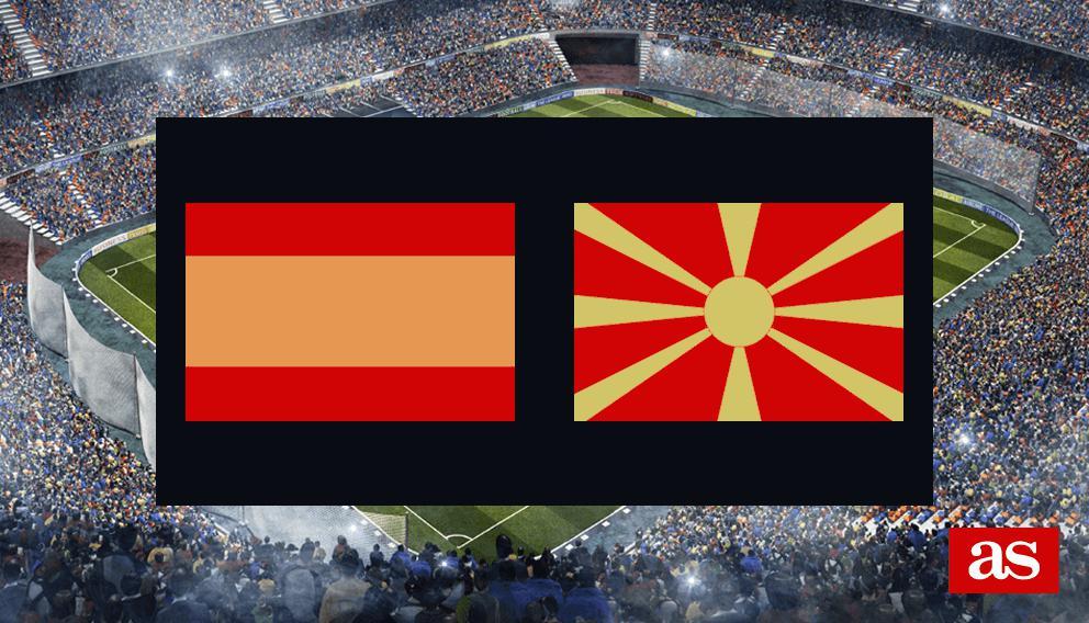 España - Macedonia: resumen, resultado y goles - As.com