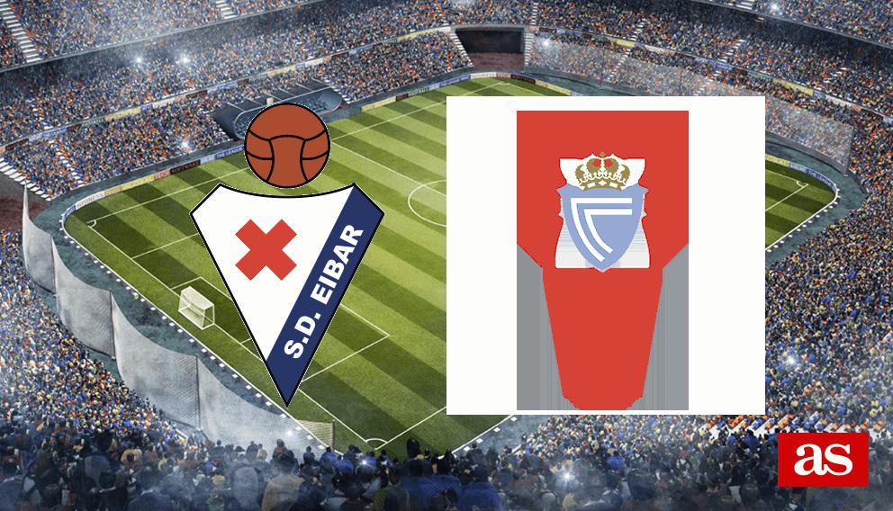 Eibar 1-0 Celta: Resumen, resultado y goles
