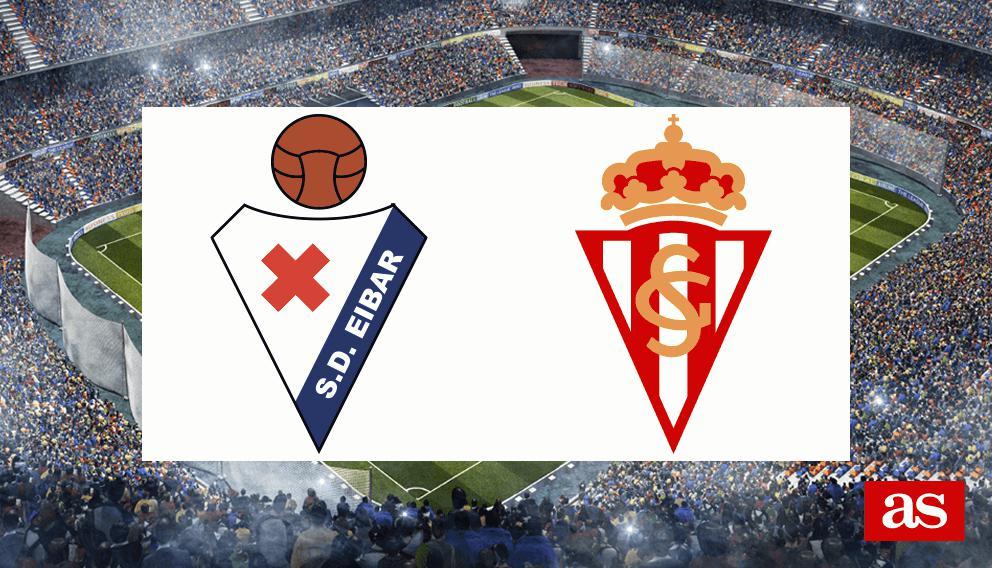 Eibar 3-1 Sporting: Resumen, resultado y goles