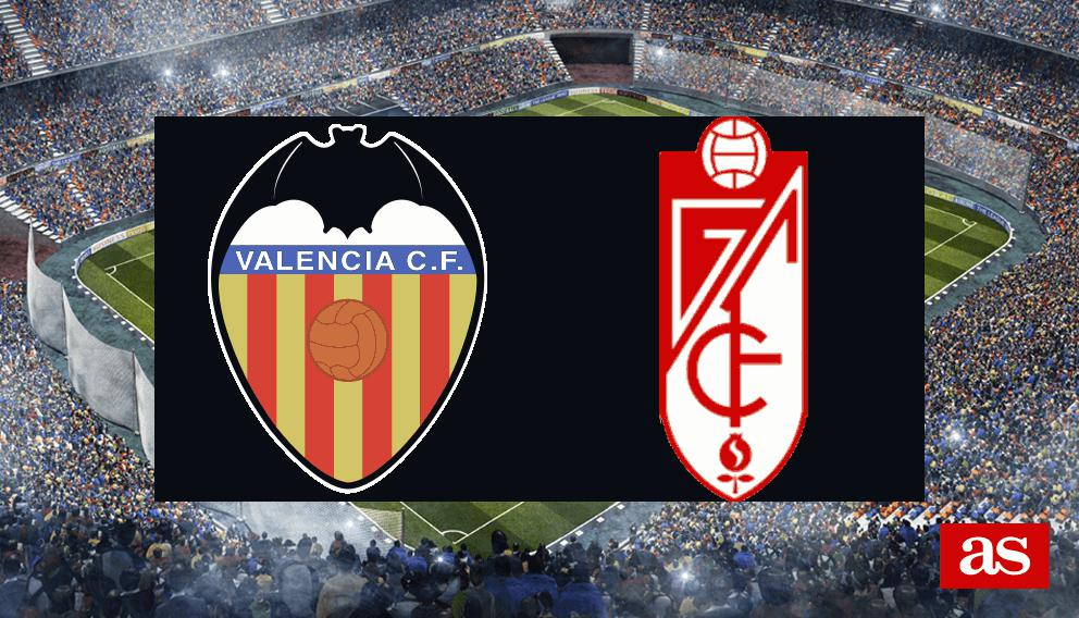 Valencia 1-1 Granada: resumen, resultado y goles