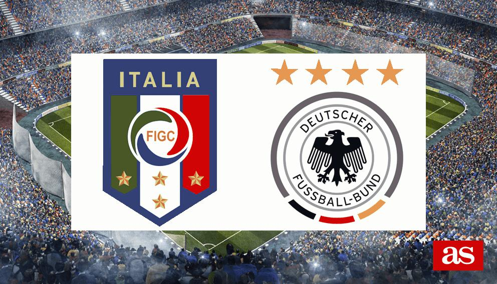 Italia - Alemania: resumen, resultado y goles - As.com