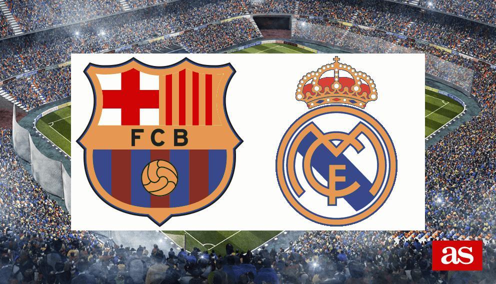 Barcelona 1-1 Real Madrid | El Clásico: Goles y resultado - Liga