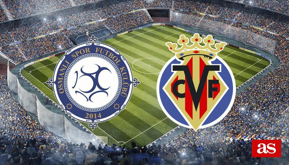 Osmanlispor - Villarreal en vivo y en directo online: Europa League 2016/2017