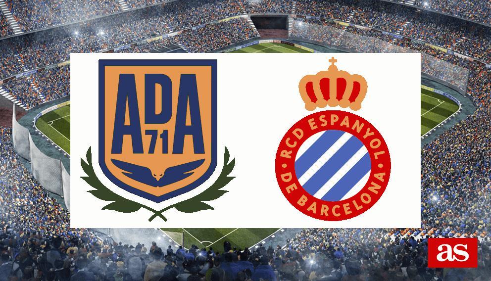 Alcorcón - Espanyol: goles, resultado y goles - Copa del Rey