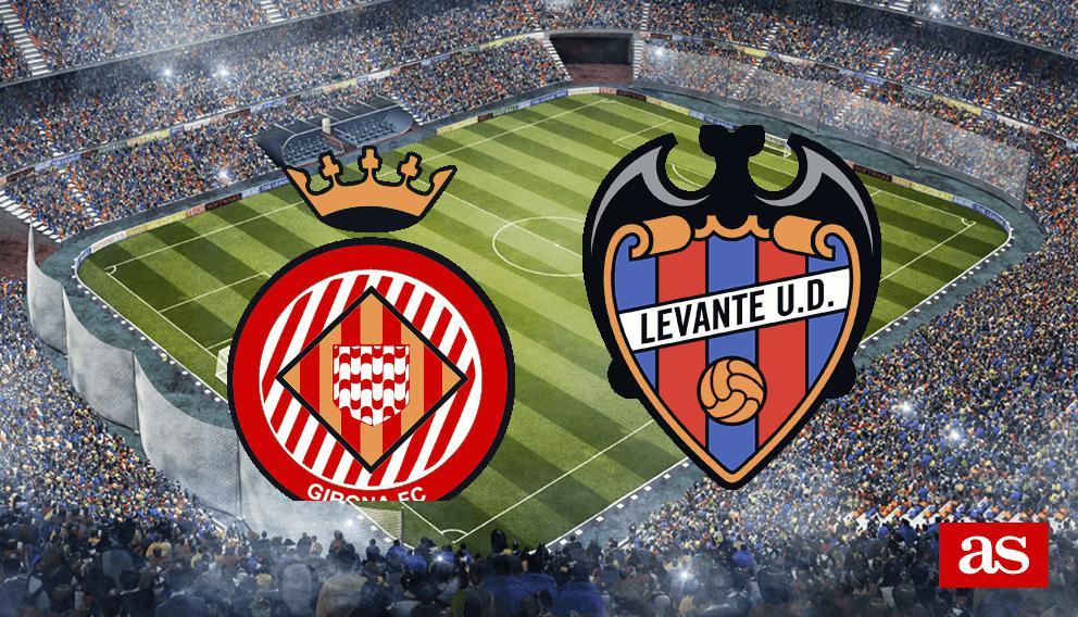 Girona - Levante: goles, resultado y crónica - LaLiga 123