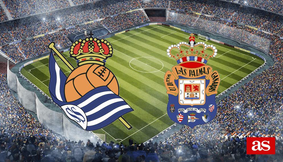 R. Sociedad - Las Palmas en vivo y en directo online: LaLiga Santander 2016/2017