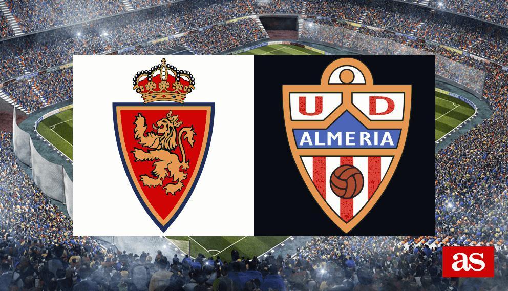 Real Zaragoza - Almería en vivo y en directo online: LaLiga 1,2,3 2016/2017