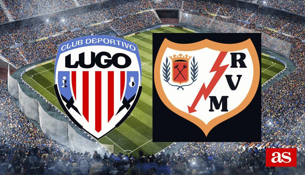 Lugo 1-0 Rayo: Resumen, goles y resultado de LaLiga 1,2,3