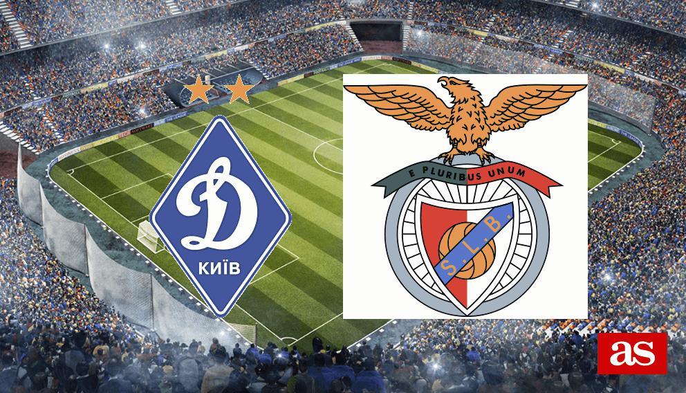 Dinamo Kiev - Benfica en vivo y en directo online: Champions League 2016/2017