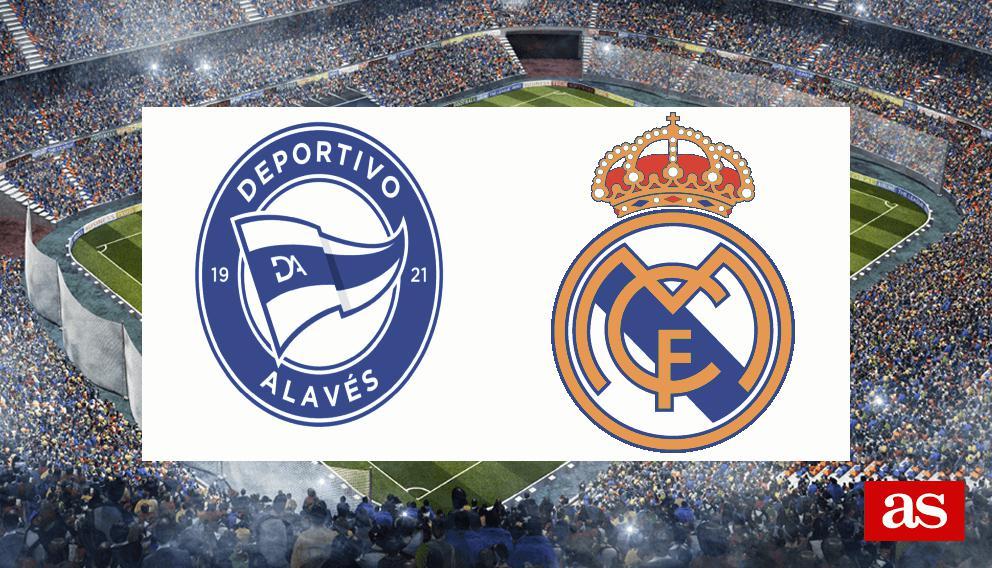 Alavés vs. Real Madrid live: LaLiga Santander 2016/2017 - AS.com
