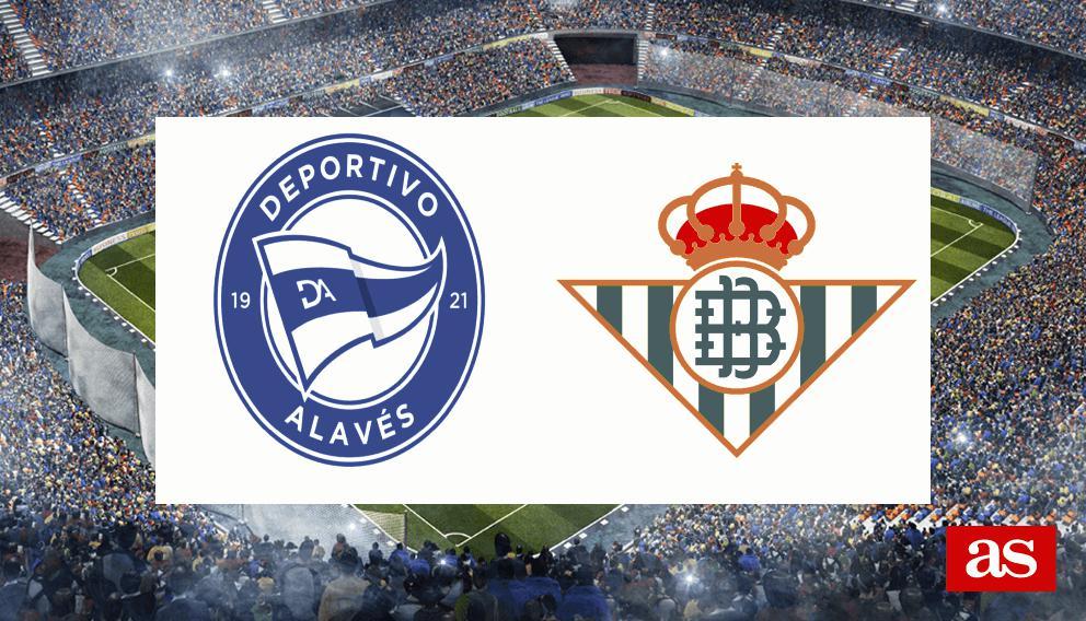 Alavés - Betis en vivo y en directo online: LaLiga Santander 2016/2017
