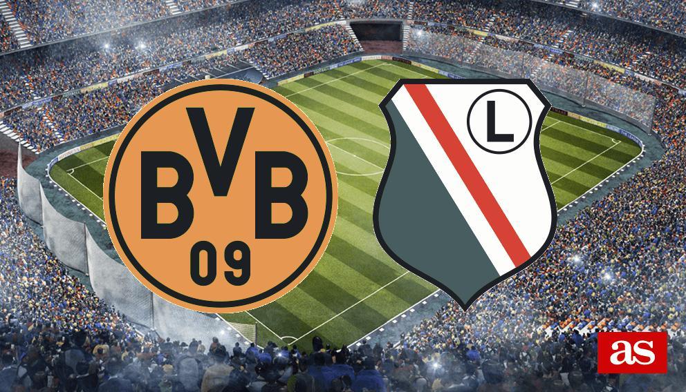 B. Dortmund vs. Legia live: Champions League 2016/2017 - AS.com