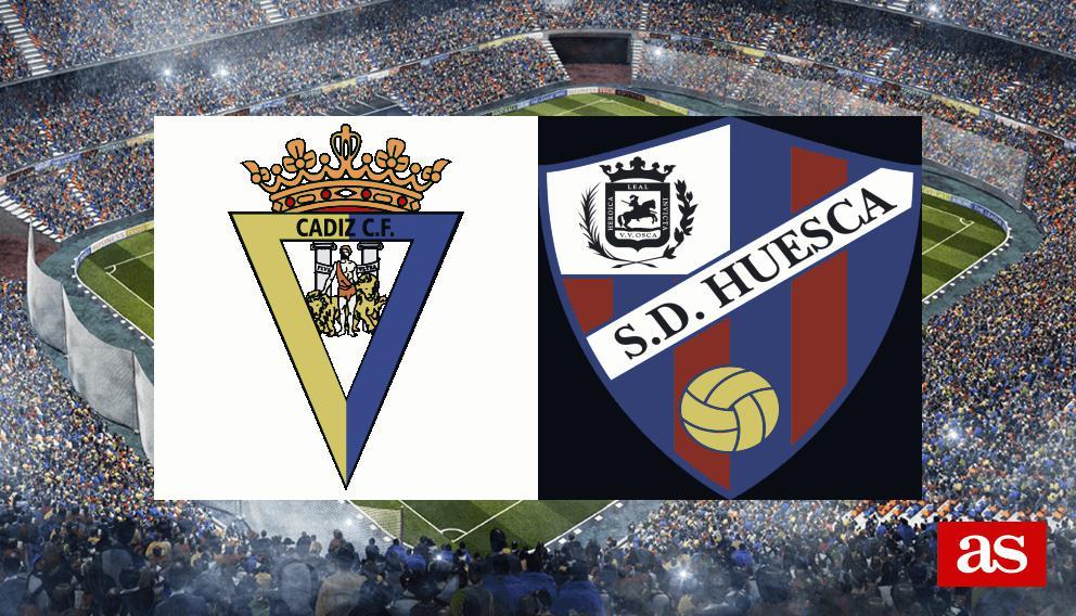 Cádiz - Huesca en vivo y en directo online: LaLiga 1,2,3 2016/2017