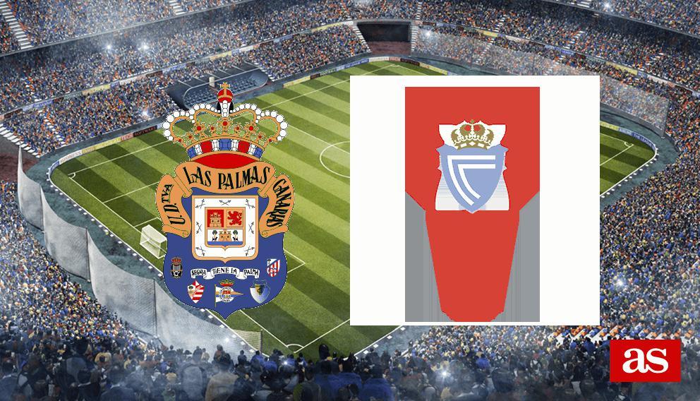 Las Palmas - Celta en vivo y en directo online: LaLiga Santander 2016/2017